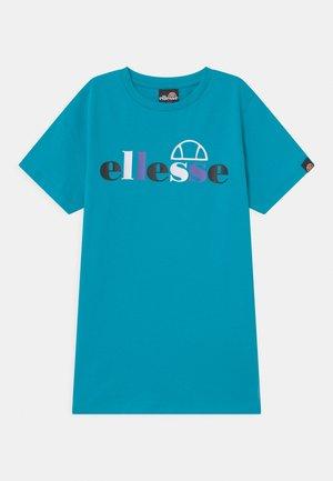 CORVIST - Print T-shirt - blue