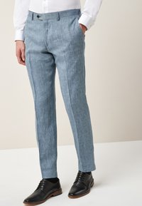 Next - Oblekové kalhoty - blue - 0