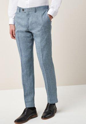 Oblekové kalhoty - blue