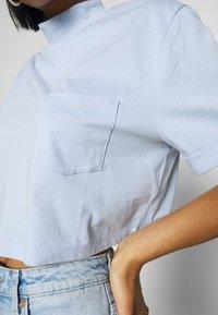 Even&Odd - Basic T-shirt - blue - 5