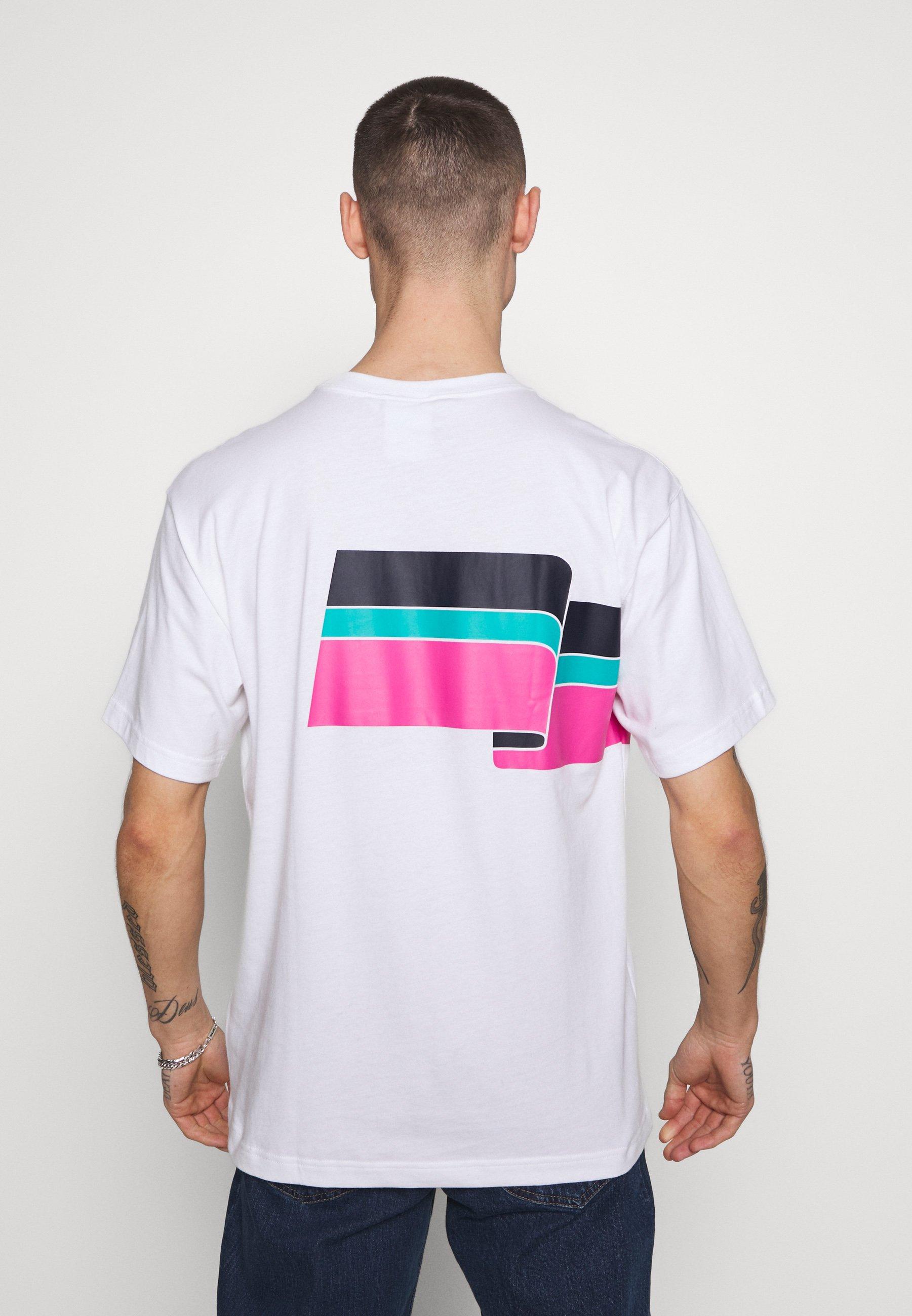adidas Originals RIPPLE TEE - Print T-shirt - white oSUOG
