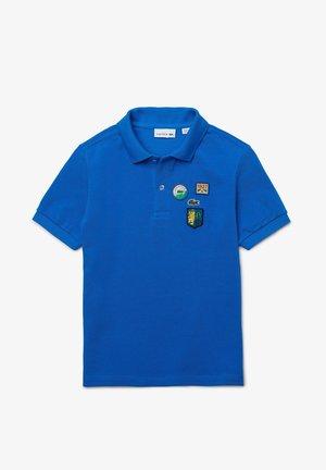 Polo shirt - bleu / blanc