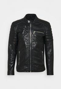 SHEEP CHARLY ACTION - Leather jacket - black
