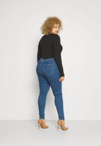 Even&Odd Curvy - JEGGING - Jeans Skinny Fit - blue denim - 1