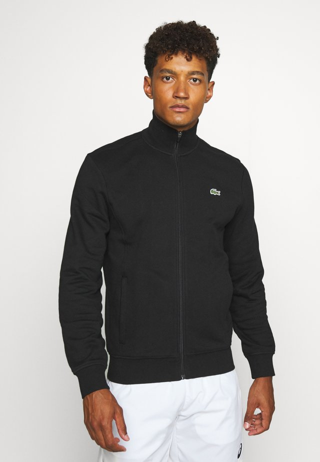 CLASSIC JACKET - veste en sweat zippée - black