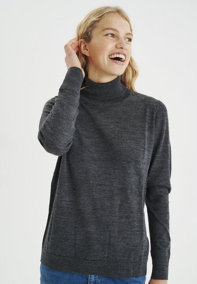 NORA - Jersey de punto - dark grey melange