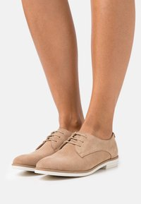 Anna Field - LEATHER - Lace-ups - cognac - 0