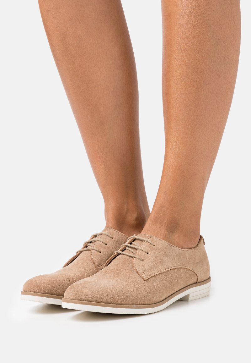 Anna Field - LEATHER - Lace-ups - cognac
