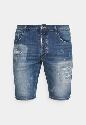 ZIPOLLO  - Jeansshort - mid blue