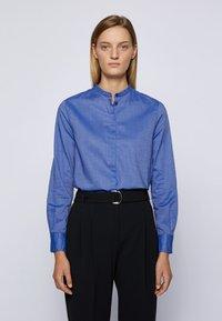 BOSS - C_BEFELIZE_18 - Button-down blouse - light blue - 0
