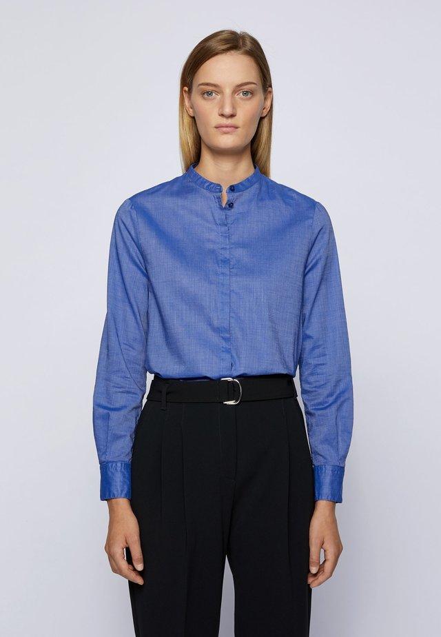 C_BEFELIZE_18 - Button-down blouse - light blue
