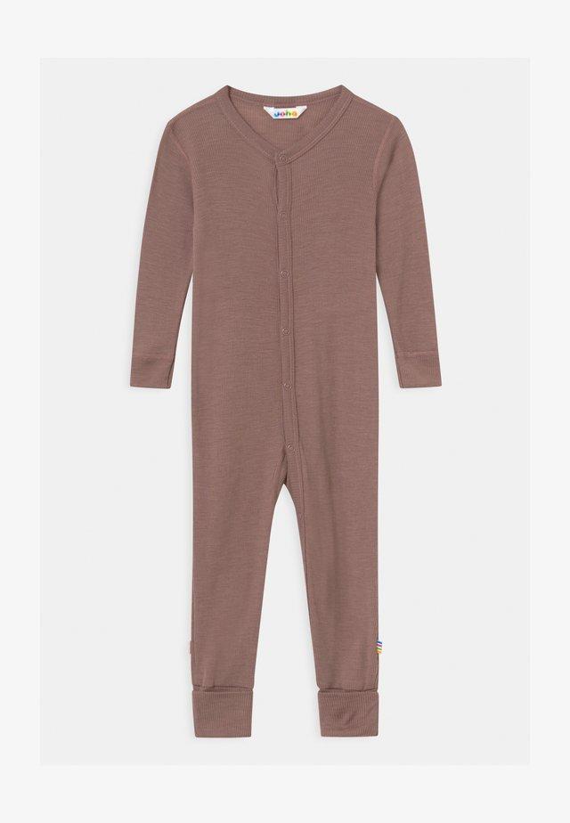 FOOT UNISEX - Pyjama - berry