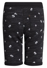 WE Fashion - MET PALMBOOMOPDRUK - Shorts - black - 4