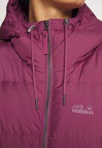 Jack Wolfskin - CRYSTAL PALACE COAT - Down coat - violet quartz - 5