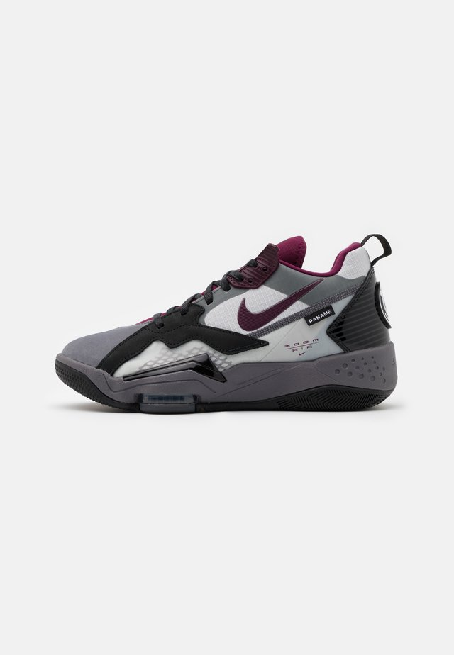 ZOOM '92 - Höga sneakers - light graphite/bordeaux/neutral grey/black