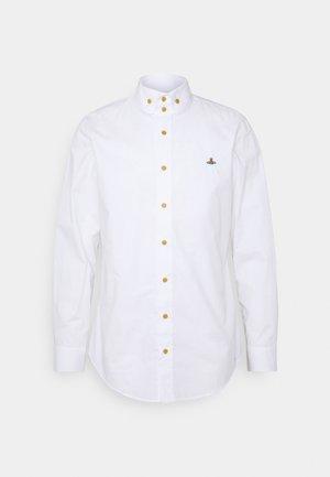 BUTTON KRALL SHIRT UNISEX - Shirt - white