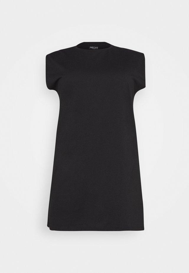 PCLIZ DRESS - Jerseyjurk - black