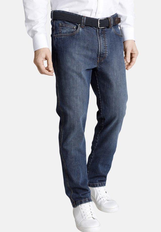 ACCOLON - Straight leg jeans - blue