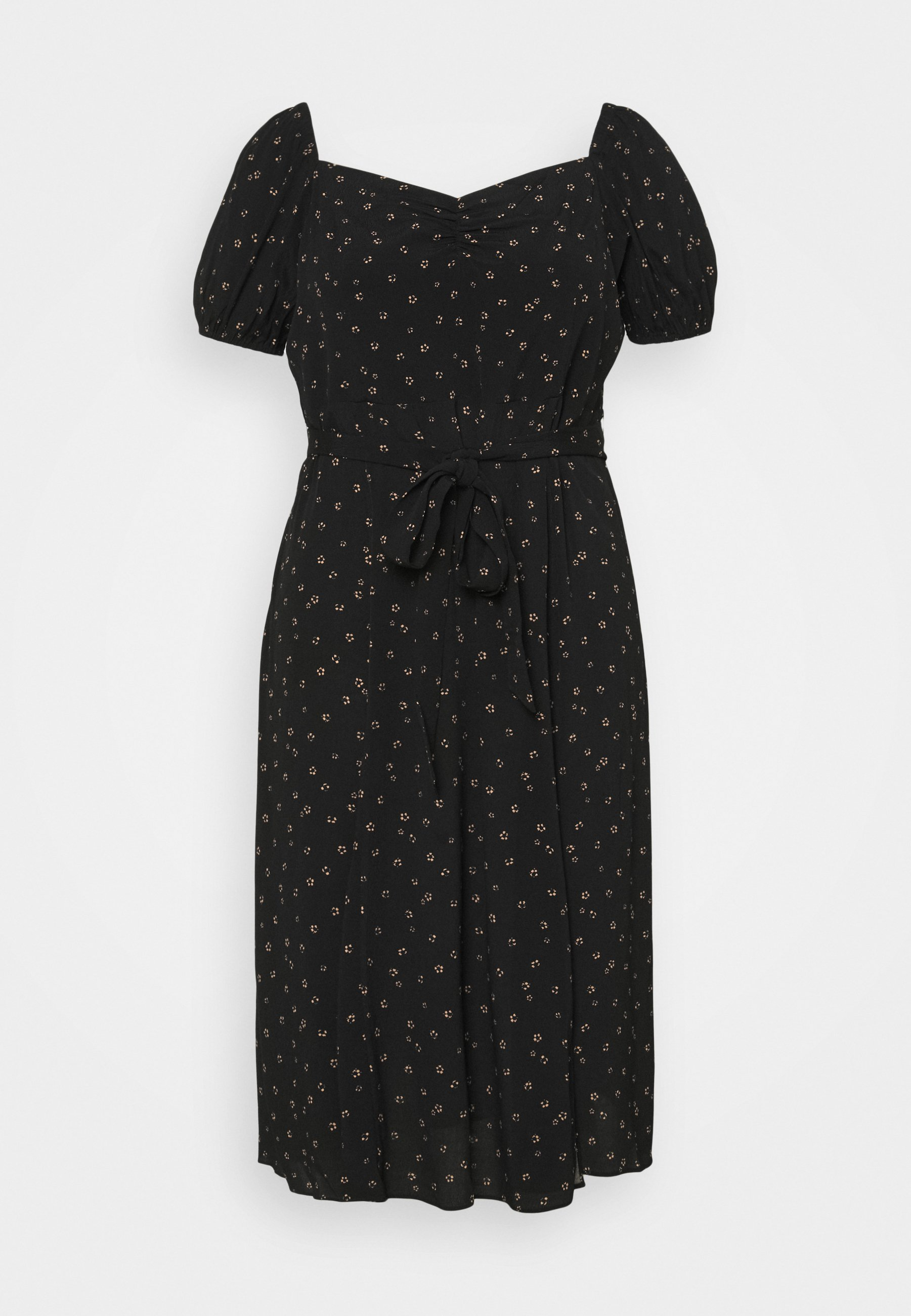 Women HALSEY PUFF SLEEVE MIDI DRESS - Day dress