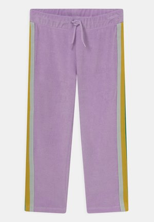 TERRY TROUSERS - Kalhoty - purple