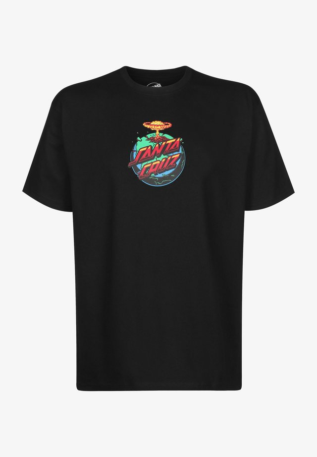 DOOM DOT - T-shirt imprimé - black