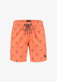 Shiwi - SNOOPY HAPPY SKATER - Swimming shorts - neon orange - 4