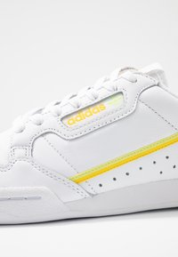adidas Originals - CONTINENTAL 80 - Sneakers - footwear white/yellow/semi frozen yellow - 2