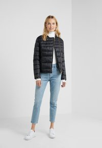 Barbour International - CORTINA QUILT - Übergangsjacke - black - 1