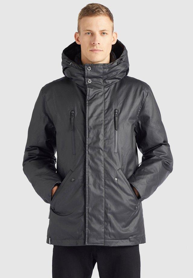 NIAS - Winterjas - schwarz