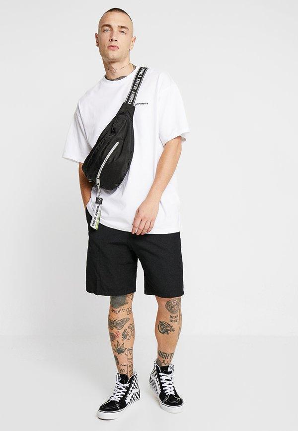 Carhartt WIP SCRIPT EMBROIDERY - T-shirt basic - white/biały Odzież Męska AVYU