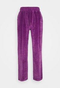9N1M SENSE - TRACK PANTS UNISEX - Pantalon de survêtement - purple - 8