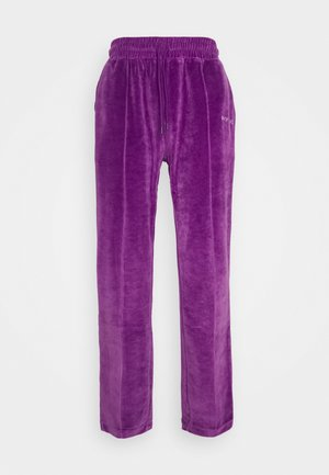 TRACK PANTS UNISEX - Träningsbyxor - purple