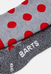 Barts - SKISOCK POLKA UNISEX - Knee high socks - red - 1
