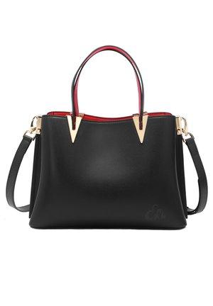 NOELE - Handbag - schwarz