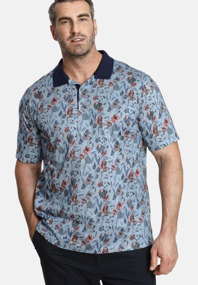 EARL LUCA - Polo shirt - blue
