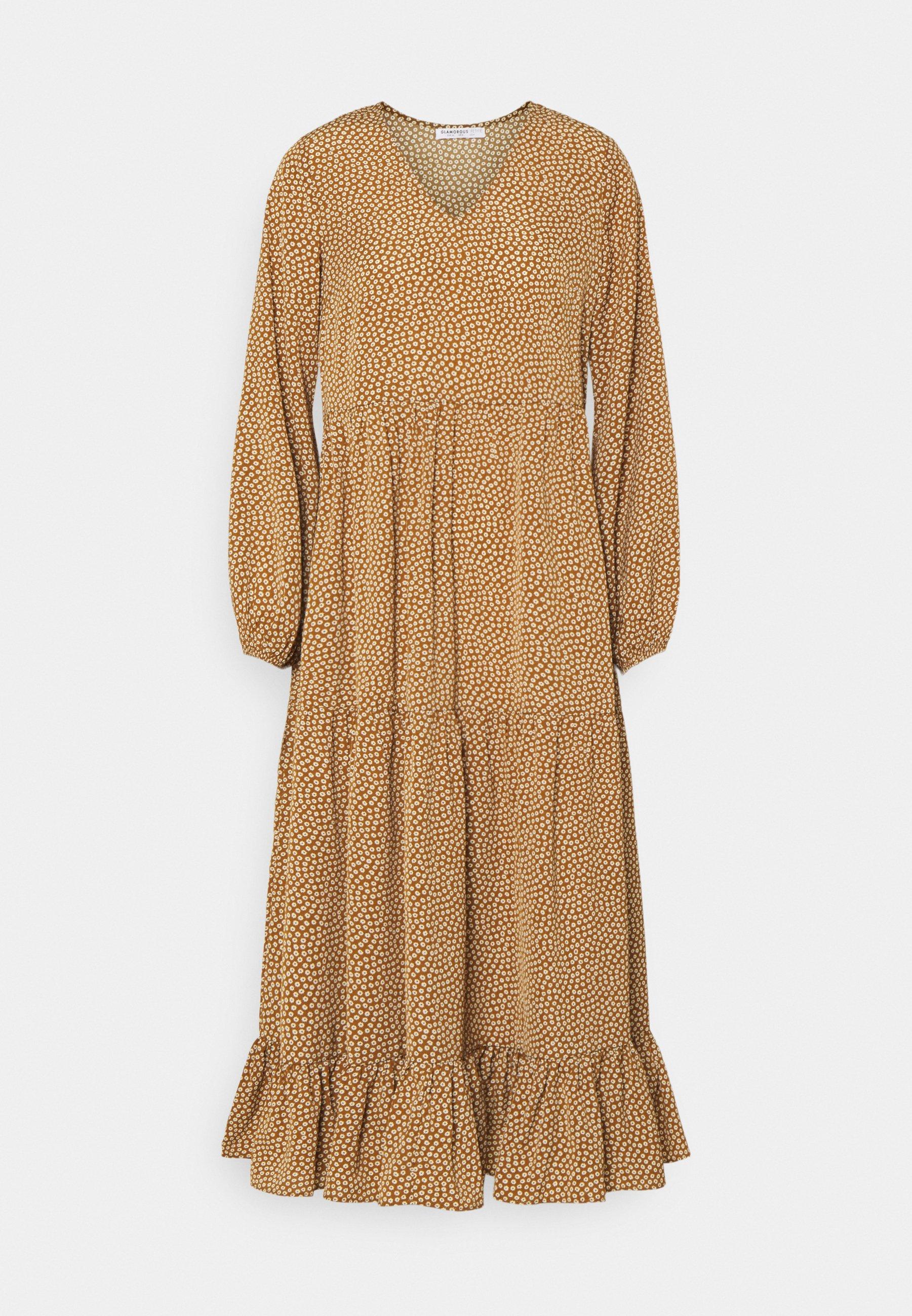 Women TIERED DRESS - Maxi dress