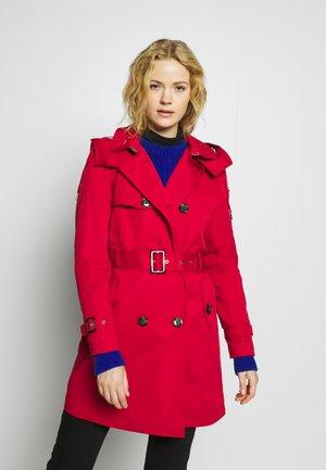 CLASSIC - Trenchcoat - dark red
