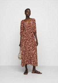Lily & Lionel - KATHERINE DRESS - Denní šaty -  mahogony - 1