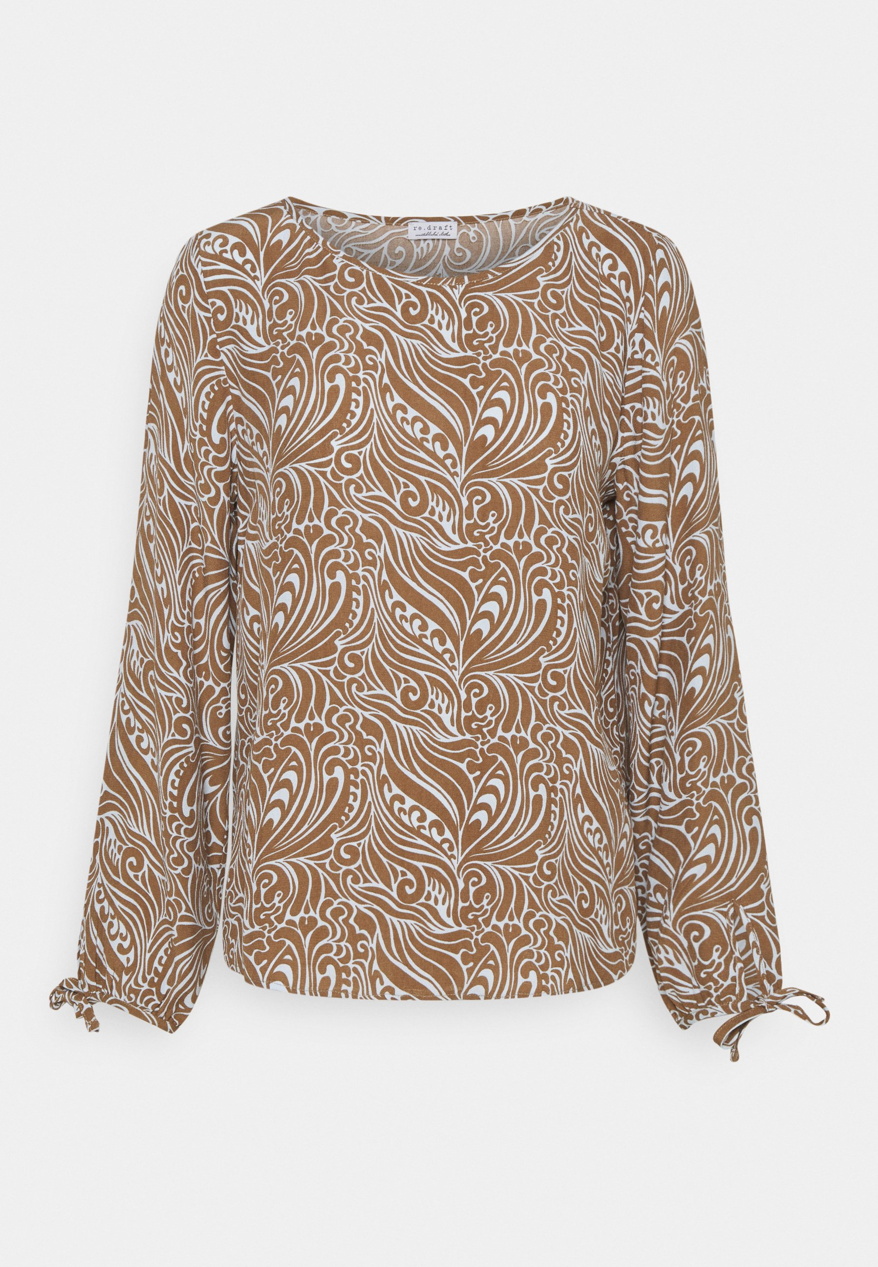 Women BLOUSE WITH SLEEVEDETAIL - Blouse