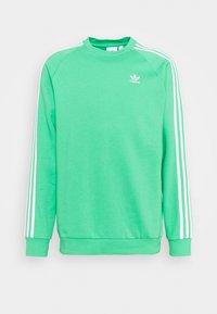 3-STRIPES CREW ORIGINALS ADICOLOR PULLOVER SWEATSHIRT - Sweatshirt - semi screaming green