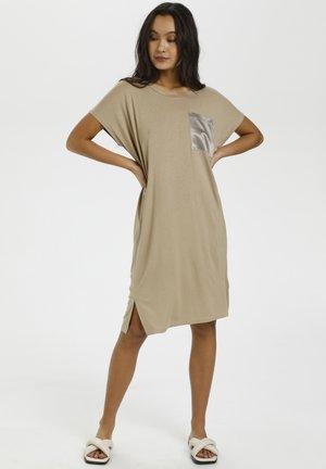 Jersey dress - classic sand