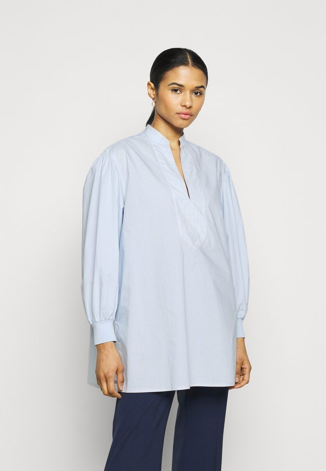 PUFFED SLEEVE - Tunika - crisp blue
