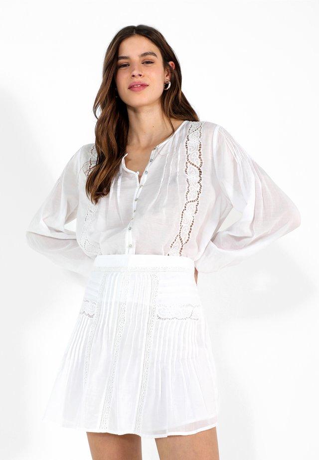 ANTIC  - A-line skirt - white