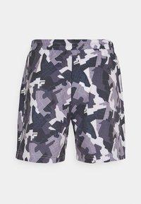 Fila - EVERIX SHORTS - Sports shorts - grey - 1