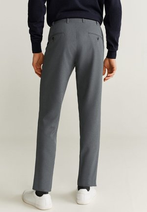 BOLOGNA - Pantalon classique - grey