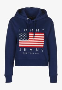 Tommy Jeans - Sweat à capuche - blue print - 0