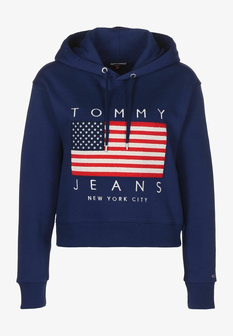 Tommy Jeans - Sweat à capuche - blue print