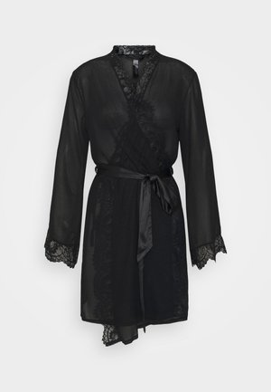 THE INTRIGUE ROBE - Accappatoio - black