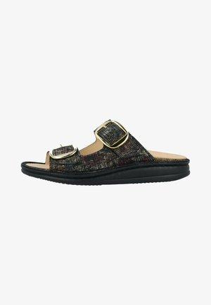 Platform sandals - multi