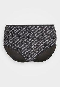 CORE HIGH RISE - Bikini bottoms - black
